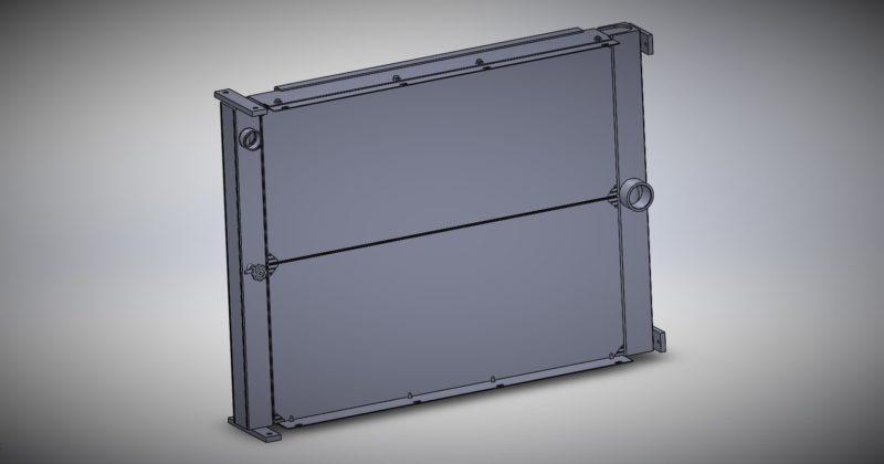 Terex Container Handler Radiator